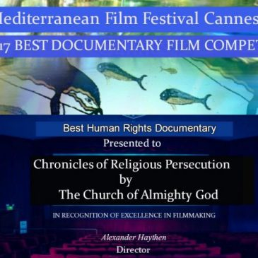 Fifth Oscar Award of Freedom and Human Rights in China Announced: The Church of Almighty God Receives Most Votes for Award