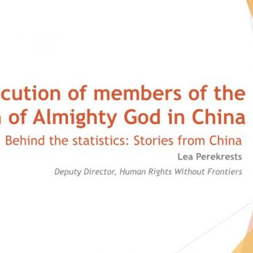 Persecution of members of the Church of Almighty God in China