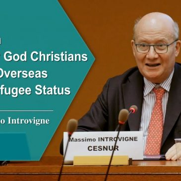 Massimo Introvigne: The Church of Almighty God Christians Displaced Overseas Deserve Refugee Status