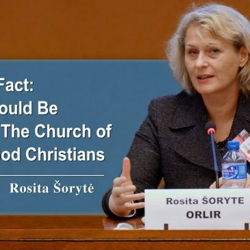 Evidential Fact: Asylum Should Be Granted to The Church of Almighty God Christians – Rosita Šorytė